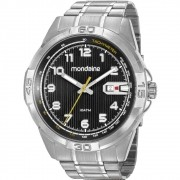 Relógio Mondaine Masculino Prata 53801G0MVNS2
