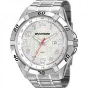 Relógio Mondaine Masculino Prata 53833G0MVNE2