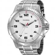 Relógio Mondaine Masculino Prata 99467G0MVNE1