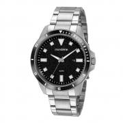 Relógio Mondaine Masculino Prata 99587G0MVNA1