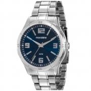 Relógio Mondaine Masculino Prata Analógico 99057G0mvne1