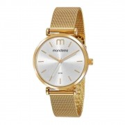 Relógio Mondaine Minimalista 53780LPMVDE1 40mm Aço Feminino - Dourado