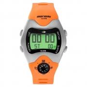 Relógio Mormaii Masculino Laranja MO1324AB/1L