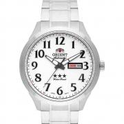 Relógio Orient Automático Masculino Aço Prata 469SS074F S2SX
