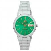 Relógio ORIENT Automático masculino aço verde 469WA1AF E1SX