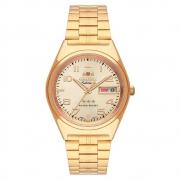 Relógio ORIENT Automático masculino dourado 469GP083F C2KX