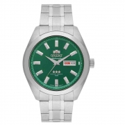 Relógio Orient Automático Masculino Prata 469SS075F E1SX