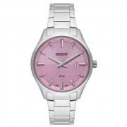 Relógio Orient Feminino Ref: Fbss1151 R1sx Social Prateado