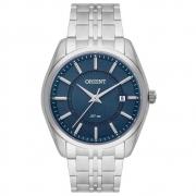 Relógio Orient Masculino Analógico Prata MBSS1363 D1SX
