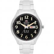 Relógio Orient Masculino Automático Prata 469SS074F P2SX