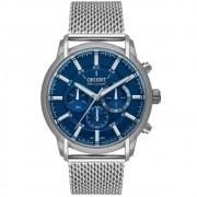 Relógio ORIENT masculino cronógrafo esteira MBSSC210 D1SX
