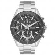 Relógio Orient Masculino Cronógrafo Prata Mbssc229 G2sx