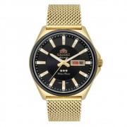 Relógio Orient Masculino Dourado F49MM009 p1kx