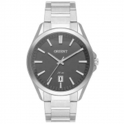 Relógio Orient Masculino Prata Analógico MBSS1390 G1SX
