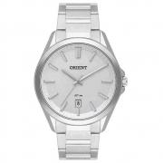 Relógio Orient Masculino Prata Analógico MBSS1390 S1SX