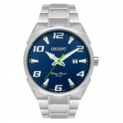 Relógio Orient Masculino Ref: Mbss1337 D2sx Casual Prateado