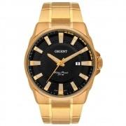 Relógio Orient MGSS1189 P1KX masculino dourado mostrador preto