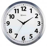 Relógio Parede Alumínio Escovado Herweg 6710-79 24Cm