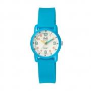 Relógio Q&Q Infantil Analógico Azul VR41J003Y