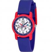 Relógio Q&Q Infantil Analógico Azul VR41J010Y