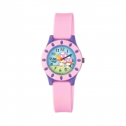 Relógio Q&Q Infantil Analógico Rosa VQ13J009Y