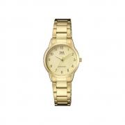 Relógio QQ Unissex Dourado  QA45J003Y