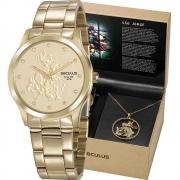 Relógio Seculus Feminino São Jorge 35019LPSKDA1K1