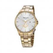 Relógio Seculus Masculino 35012GPSVDA1 Dourado Maçonaria