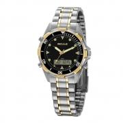 Relógio Seculus Masculino Bicolor 20914GPSVBA3