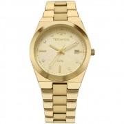 Relógio Technos Dourado Feminino Fashion Trend Analógico 2115kzr/4x