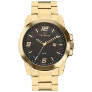 Relógio Technos Dourado Masculino 2115MNZS/4P