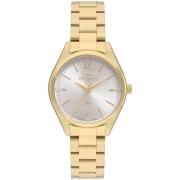 Relógio Technos Feminino Dourado 2036MNO/4K