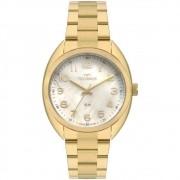 Relógio Technos Feminino Dourado Elegance 2036MLA/4X
