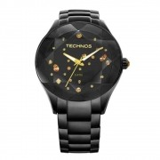 Relógio Technos Feminino Elegance Crystal 2039AUDTM/1P
