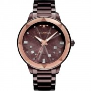 Relógio Technos Feminino Elegance Crystal 2039CF/4G
