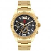 Relógio Condor Flamengo Dourado FLACOJP25AA/4P