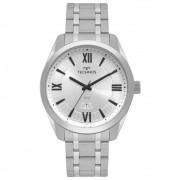 Relógio Technos Masculino Prateado 2115MSQ/1K