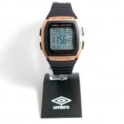Relógio Umbro Retrô Masculino Rosé Umb-112-3