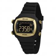 Relógio X-Games Digital Feminino Preto/Dourado XLPPD052 PXPX
