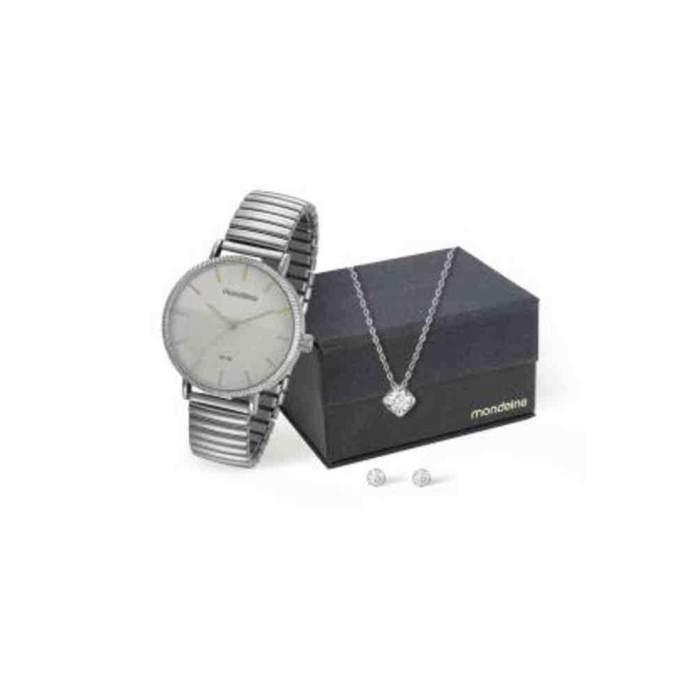 Kit Relógio Mondaine Feminino 99160L0MVNE2K