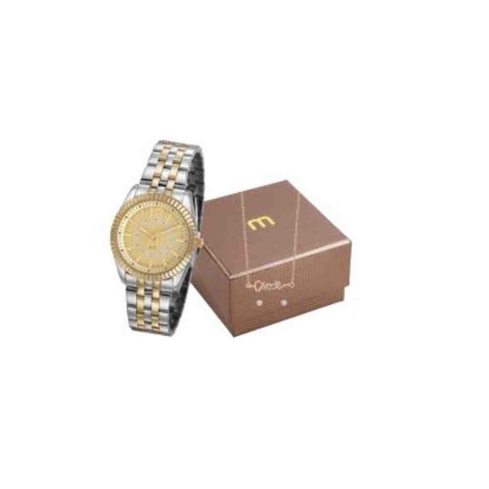 Kit Relógio Mondaine Feminino 99309LPMGBE4K1