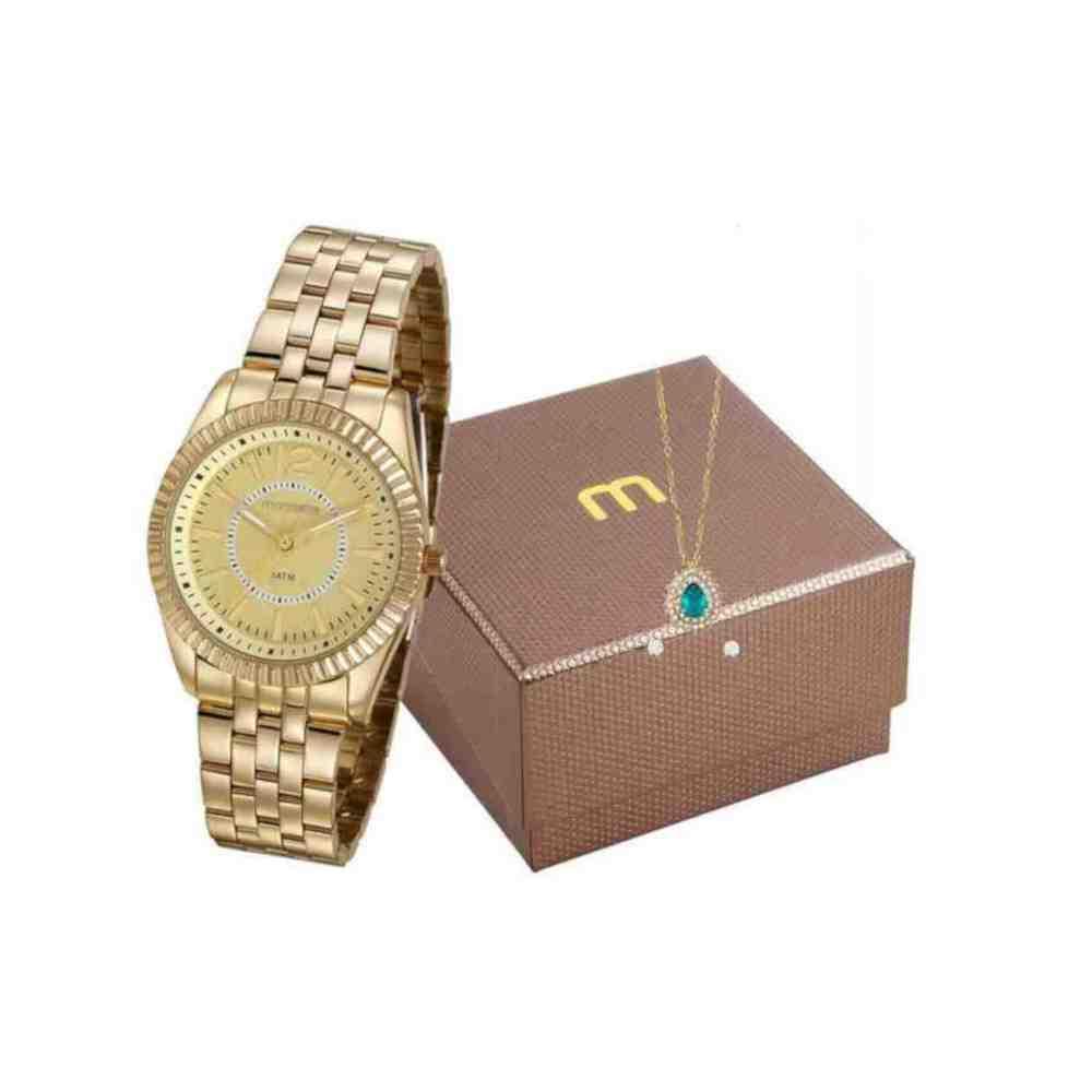 Kit Relógio Mondaine Feminino 99309LPMGDE1K1