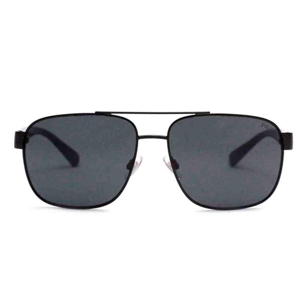 Óculos de Sol Polo Ralph Lauren PH3130 90038759 Preto Lentes Cinzas