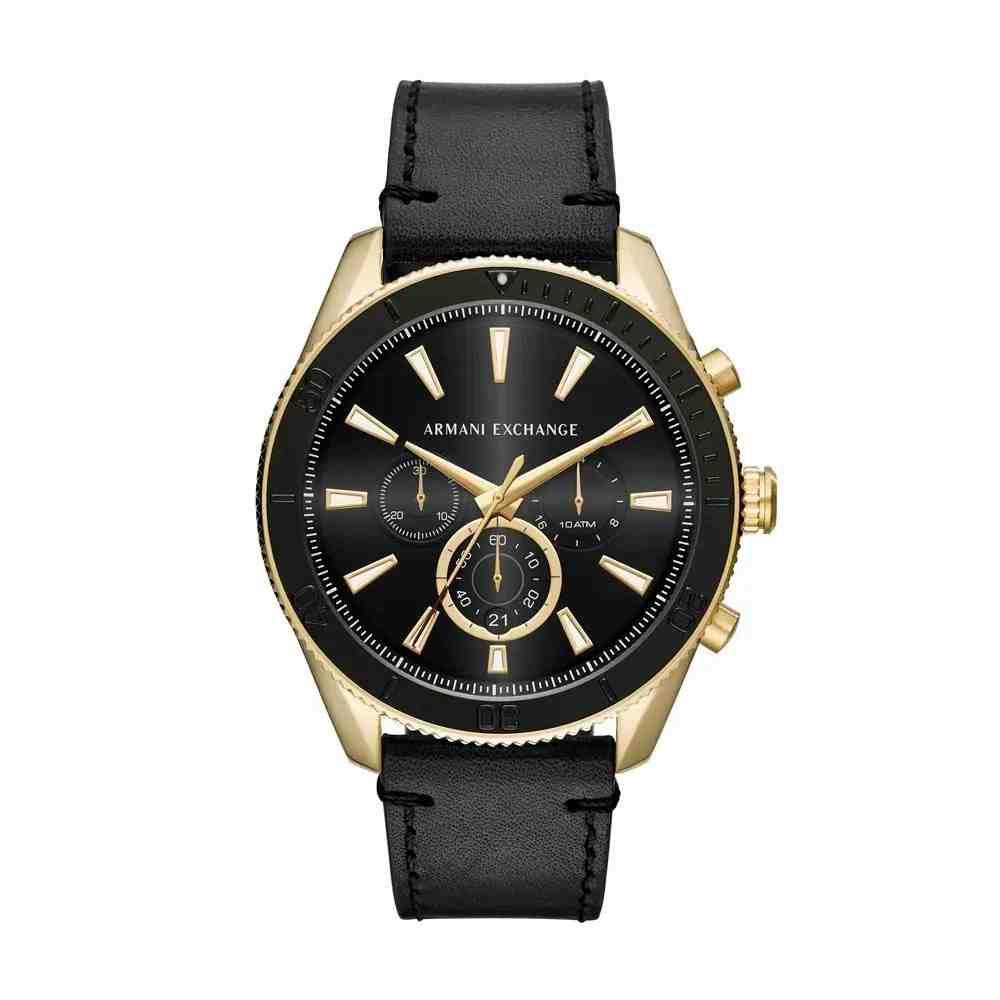 Relógio Armani Exchange Masculino Classic Enzo Preto - AX1818/0PN