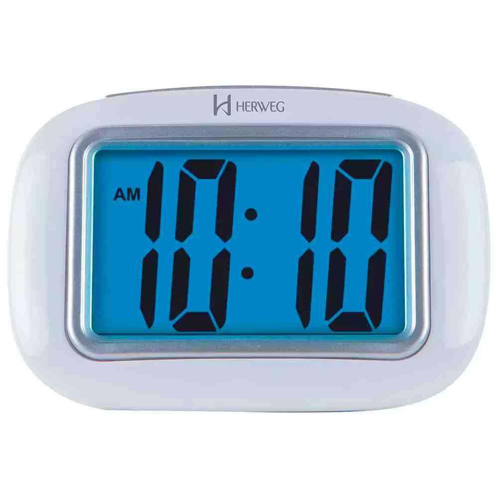 Relógio Bespertador HERWEG Branco 2976-021