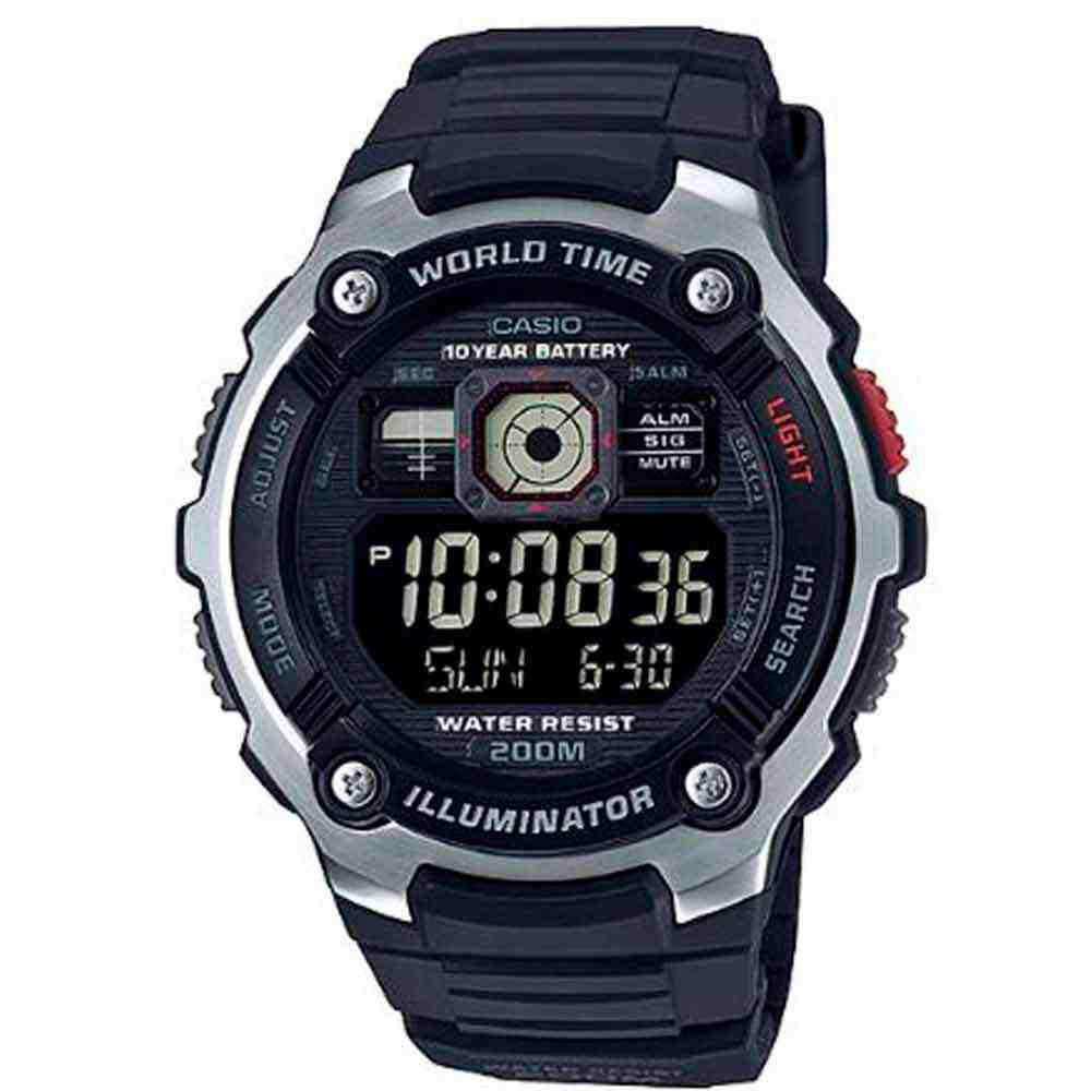Relógio Casio Iluminator Masculino AE-2000W-1BVDF
