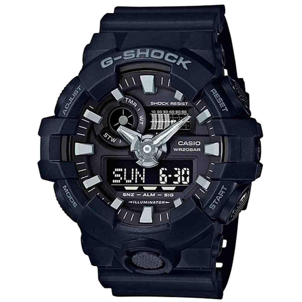 Relógio Casio Masculino G-Shock GA-700-1BDR