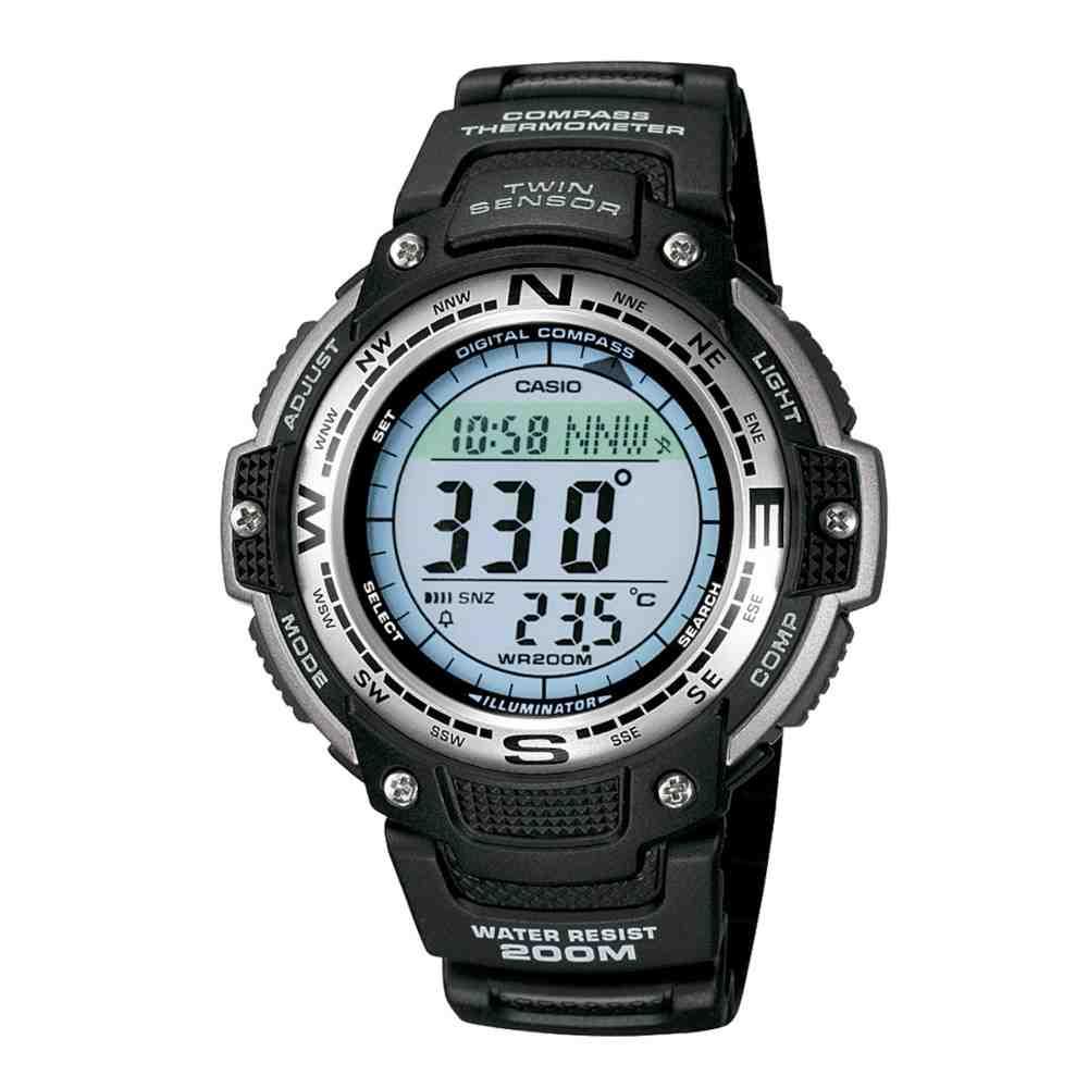 Relógio Casio Masculino Preto Digital SGW-100-1VDF