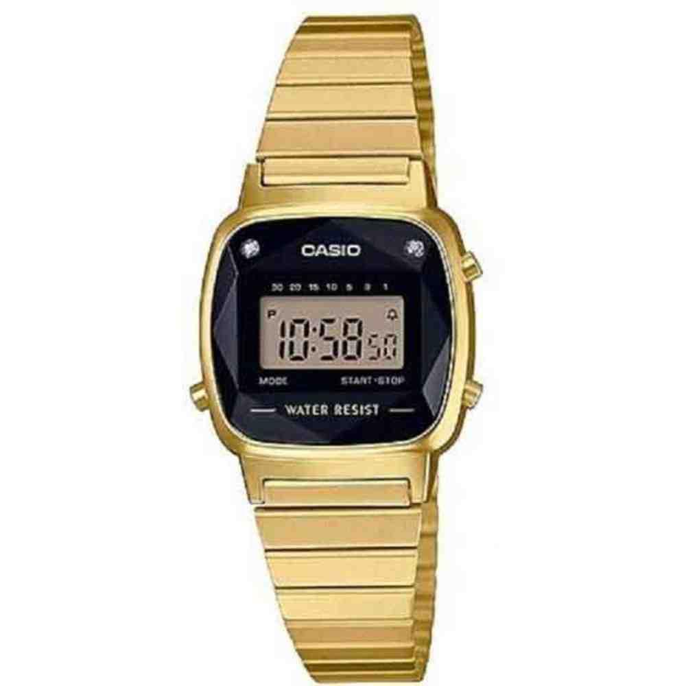 Relógio Casio Vintage Feminino LA670WGAD-1DF