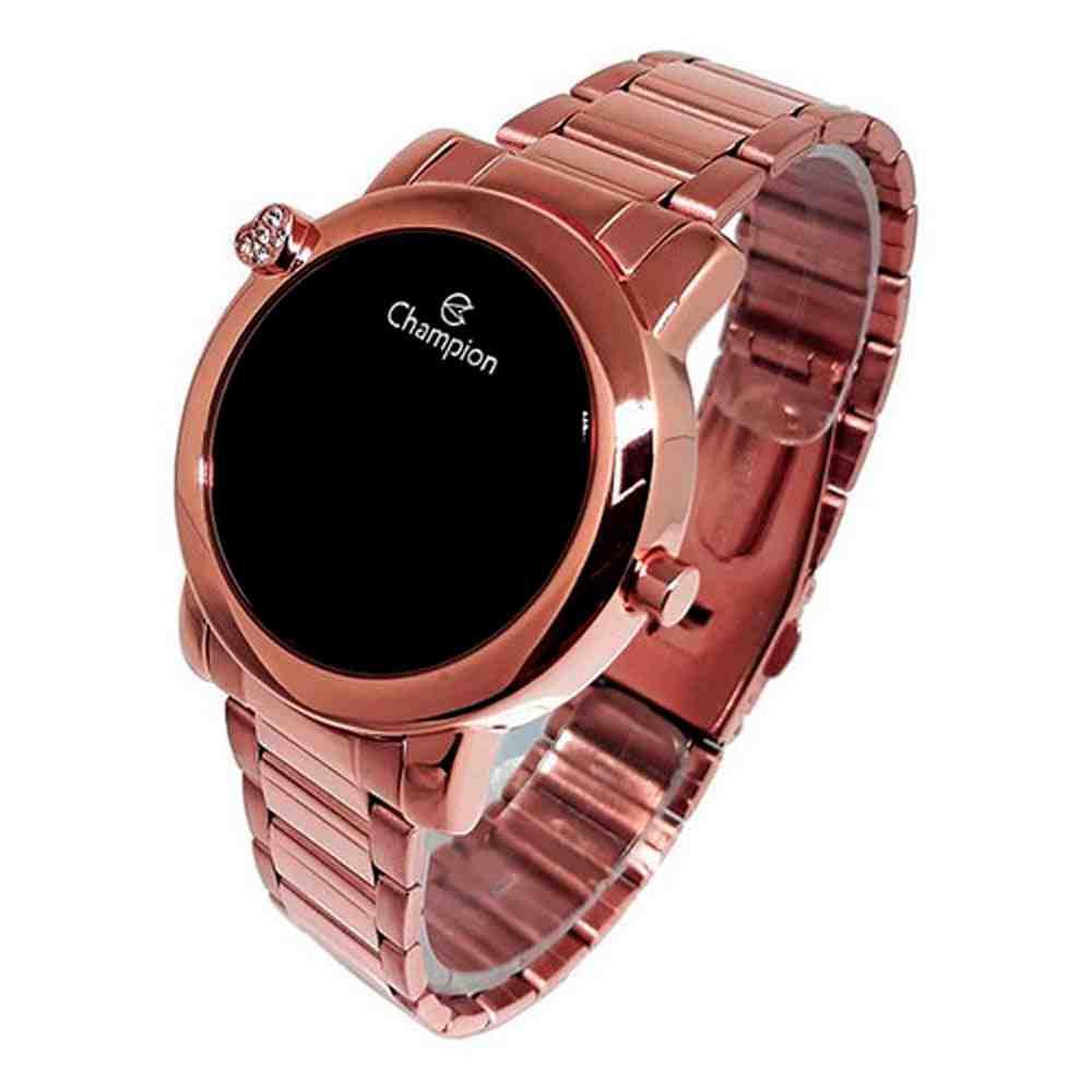 Relógio Champion Feminino Digital CH48064R Marrom